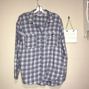 Hollister Plaid Flannel Button Shirt